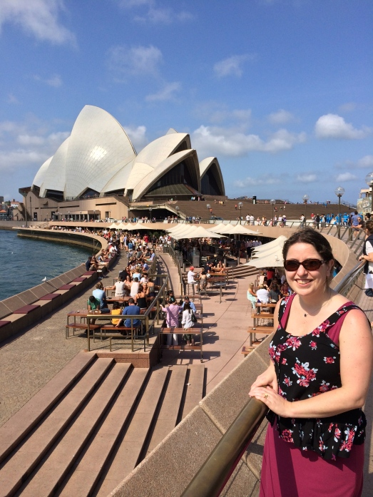 First time seeing the Sydney Opera House!