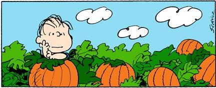 Click on the picture to see a clip of It's the Great Pumpkin, Charlie Brown!
